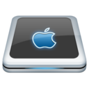 128x128px size png icon of Drive Apple