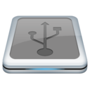 128x128px size png icon of Drive Usb 2