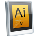 128x128px size png icon of File AI