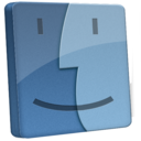 128x128px size png icon of File Finder