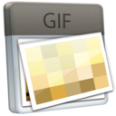 128x128px size png icon of File GIF