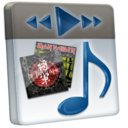 128x128px size png icon of File Music 2