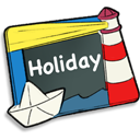 128x128px size png icon of Holiday