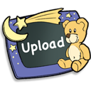 128x128px size png icon of Upload