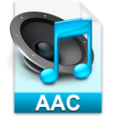 128x128px size png icon of iTunes aac