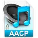 128x128px size png icon of iTunes aacp