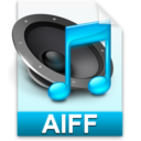 128x128px size png icon of iTunes aiff
