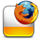 128x128px size png icon of html htm FF