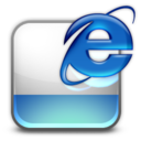 128x128px size png icon of html htm IE