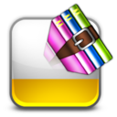 128x128px size png icon of zip rar
