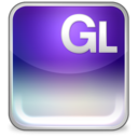 128x128px size png icon of gl