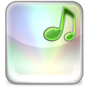 128x128px size png icon of mpeg avi wav ogg mp3 IT