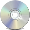 128x128px size png icon of Cdrom