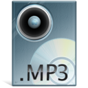 128x128px size png icon of Mp 3