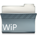 128x128px size png icon of Wip
