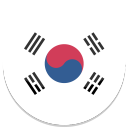 128x128px size png icon of South Korea