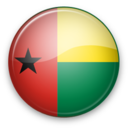 128x128px size png icon of Guinea Bissau