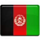 128x128px size png icon of Afghanistan Flag