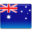 128x128px size png icon of Australia Flag