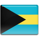 128x128px size png icon of Bahamas Flag