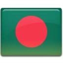 128x128px size png icon of Bangladesh Flag