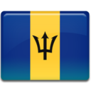 Barbados Flag Icon