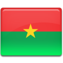 128x128px size png icon of Burkina Faso Flag