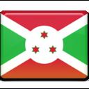 128x128px size png icon of Burundi Flag