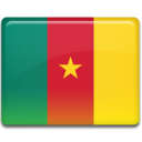 128x128px size png icon of Cameroon Flag