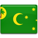 128x128px size png icon of Cocos Islands