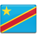 128x128px size png icon of Congo Kinshasa