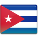 128x128px size png icon of Cuba Flag