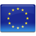 128x128px size png icon of European Union Flag