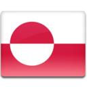 128x128px size png icon of Greenland Flag