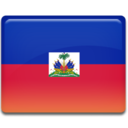 128x128px size png icon of Haiti Flag