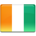 Ivory Coast Flag Icon