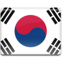 128x128px size png icon of Korea Flag