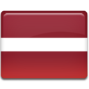 128x128px size png icon of Latvia Flag