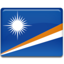128x128px size png icon of Marshall Islands Flag