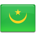 128x128px size png icon of Mauritania Flag