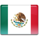128x128px size png icon of Mexico Flag