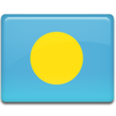 128x128px size png icon of Palau Flag
