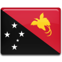 128x128px size png icon of Papua New Guinea Flag