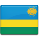 128x128px size png icon of Rwanda Flag