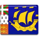 128x128px size png icon of Saint Pierre and Miquelon