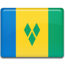 128x128px size png icon of Saint Vincent and the Grenadines
