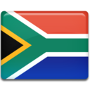128x128px size png icon of South Africa Flag