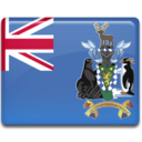 128x128px size png icon of South Georgia Flag