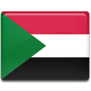 128x128px size png icon of Sudan Flag