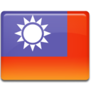 128x128px size png icon of Taiwan Flag